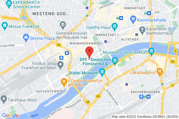 https://maps.googleapis.com/maps/api/staticmap?markers=color:red|Wilhelm-Leuschner-Straße 24 60329 Frankfurt&center=Wilhelm-Leuschner-Straße 24 60329 Frankfurt&zoom=14&size=588x392&key=AIzaSyBq_Y8YRNWV5l-KFo7MeT1QgfjIbI8vc3c