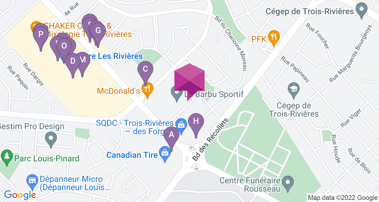 Les Marronniers Trois-Rivières