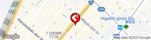 東京都中央区銀座1丁目10 - Yahoo!地図