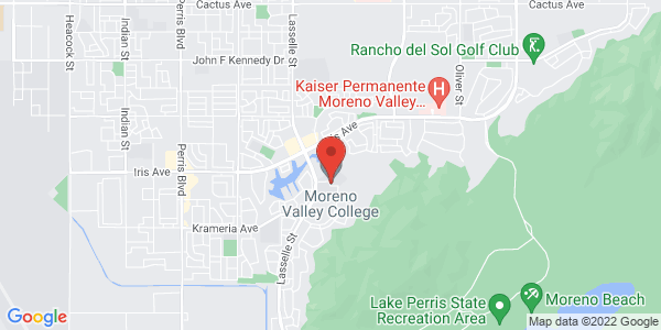 Google Map: Moreno Valley College