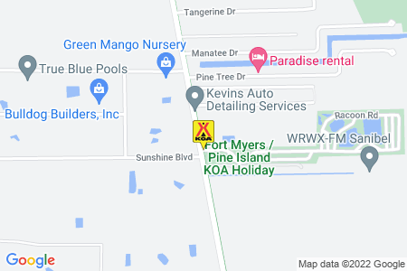 Fort Myers / Pine Island KOA Holiday Map