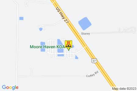 Moore Haven KOA Map