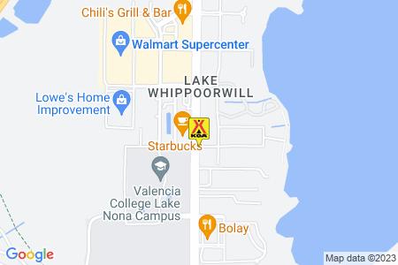 Orlando SE / Lake Whippoorwill KOA Map