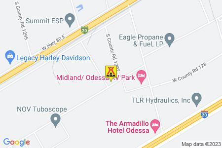 Midland / Odessa KOA Journey Map