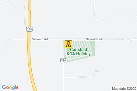 Carlsbad KOA Holiday Map
