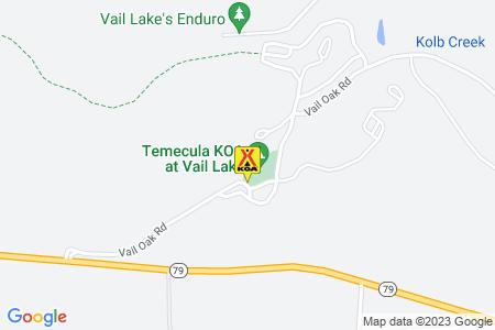 Temecula / Vail Lake KOA Map
