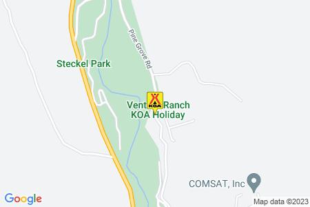 Ventura Ranch KOA Map