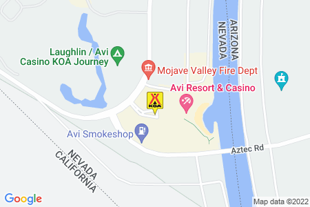 Laughlin / Avi Casino KOA Map