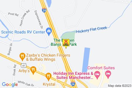 Manchester KOA Map