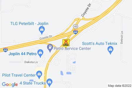 Joplin KOA Journey Map