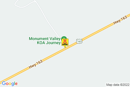 Monument Valley KOA Map