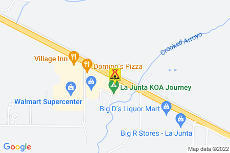 La Junta KOA Map