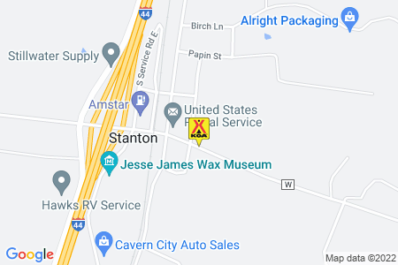 Stanton / Meramec KOA Journey Map
