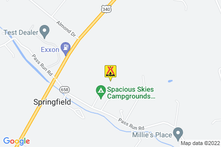 Luray KOA Map