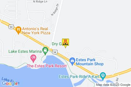Estes Park KOA Map
