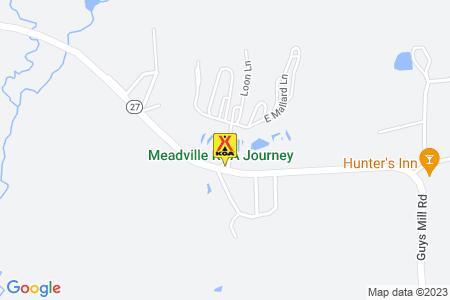 Meadville KOA Map
