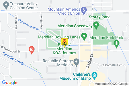 Boise / Meridian KOA Journey Map