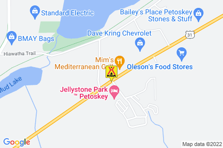 Petoskey KOA Holiday Map