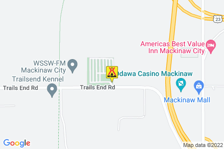Mackinaw City / Mackinac Island KOA Journey Map