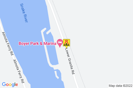 Boyer Park & Marina / Snake River KOA Map
