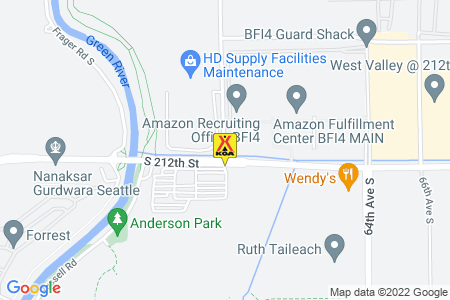 Seattle / Tacoma KOA Map