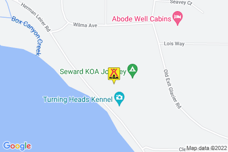 Seward KOA Map