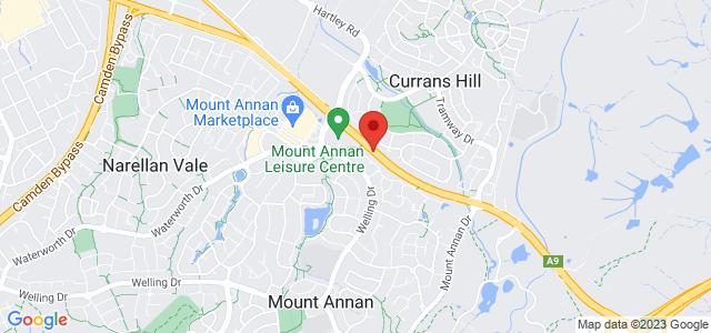 The Australian Botanic Garden Mount Annan location on map