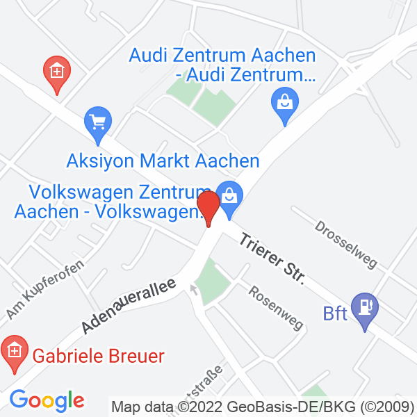 Google Map Praxis Kamitz