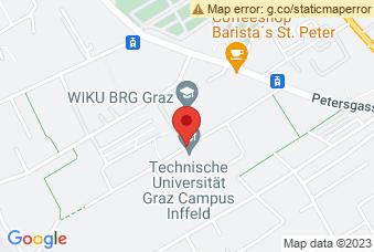Karte mit Markierung auf TU Graz Silicon Austria Labs, ,
