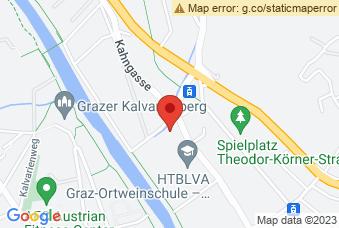Karte mit Markierung auf BRG Körösistrasse Graz, Körösistraße 155, 8010 Graz