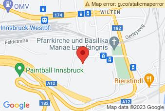 Karte mit Markierung auf PH Tirol, Pastorstraße 7, 6020 Innsbruck