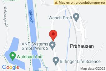 Karte mit Markierung auf Justizanstalt Puch/Urstein, Urstein Nord, 5412