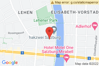 Karte mit Markierung auf BHAK/BHAS I+II, Johann-Brunauer-Straße 4, 5020 Salzburg