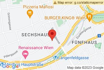 Karte mit Markierung auf BG/BRG Diefenbachgasse, Diefenbachgasse 15, 1150 Wien