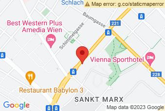 Karte mit Markierung auf Biologiezentrum St. Marx, Schlachthausgasse 43, 1030 Wien