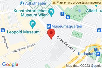 Karte mit Markierung auf BG/BRG Rahlgasse, Rahlgasse 4, 1060 Wien