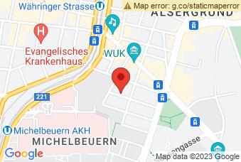 Karte mit Markierung auf HLMW 9 Michelbeuern, Michelbeuerngasse 12, 1090 Wien