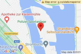 Karte mit Markierung auf Judoka PSV Wien, Dampfschiffhaufen 2, 1220 Wien