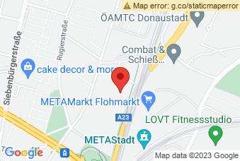 Karte mit Markierung auf BHAK/BHAS Polgarstrasse, Polgarstraße 24, 1220 Wien