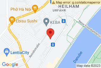 Karte mit Markierung auf Georg von Peuerbach-Gymnasium, Peuerbachstraße 35, 4040 Linz