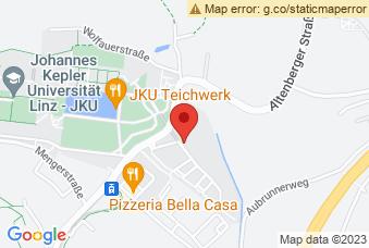 Karte mit Markierung auf Science Park Linz - Bauteil 3, Altenbergerstraße 66, 4040 Linz
