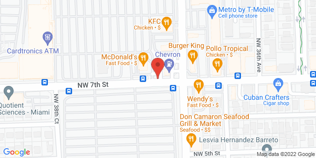 ACE Cash Express Miami 3715A NW 7th St 33126 on Map