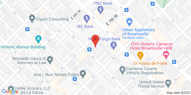National Bank Brownsville 701 E Levee St 78520 on Map