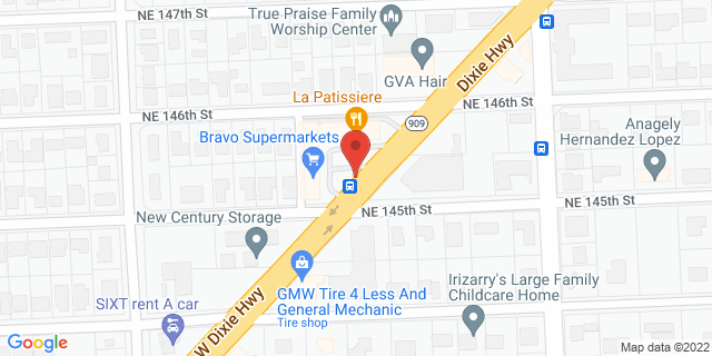 ACE Cash Express Miami 14546 W Dixie Hwy 33161 on Map
