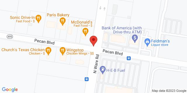 ACE Cash Express Mcallen 3608 Pecan Blvd 78501 on Map