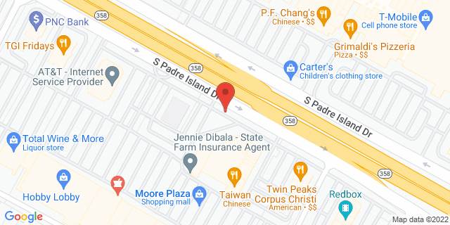 ACE Cash Express Corpus Christi 5425 S Padre Island Dr 78411 on Map