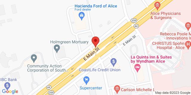 ACE Cash Express Alice 2611 E Main St 78332 on Map