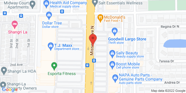 ACE Cash Express Largo 1420 Missouri Ave N 33770 on Map