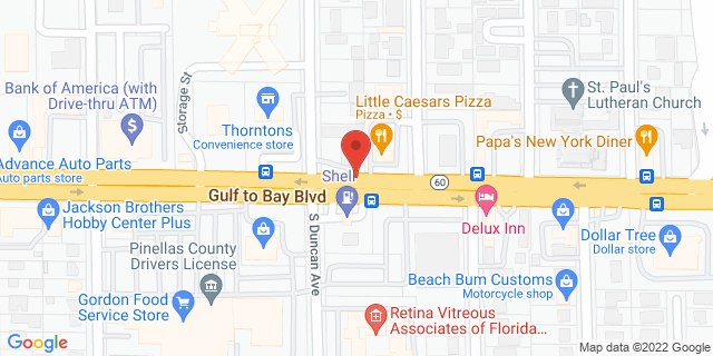 ACE Cash Express Clearwater 1712 Gulf To Bay Blvd 33755 on Map