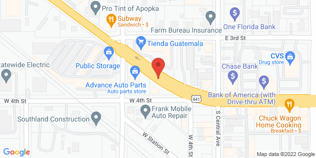 ACE Cash Express Apopka 87 W Main St 32703 on Map